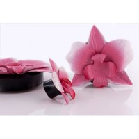 Horn Plug - Blume - Rosa
