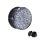 Ohr Plug - Glitter - Silber