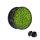 Ohr Plug - Glitter - Hellgrün