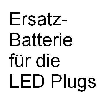 Ersatz-Batterie für LED Plugs