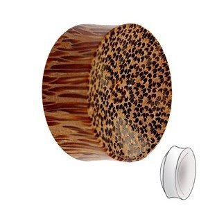 Holz Plug - Palmen Holz - Hell