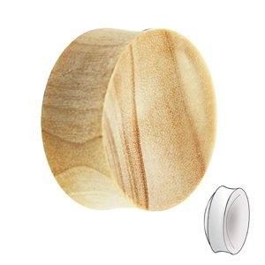 Holz Plug - Krokodil Holz