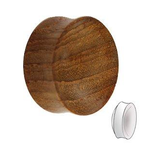 Holz Plug - Teakholz