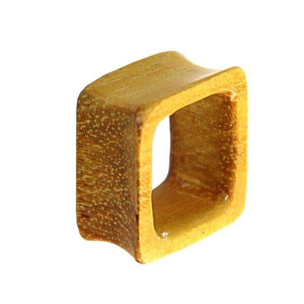 Holz Tunnel - Viereck - Jackfrucht Holz