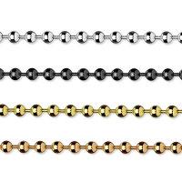Edelstahl Halskette mit Kugeln