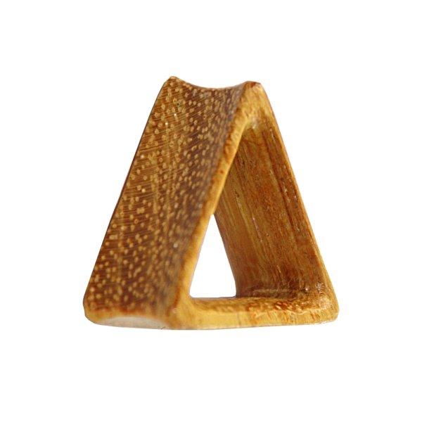 Holz Tunnel - Dreieck - Jackfrucht Holz