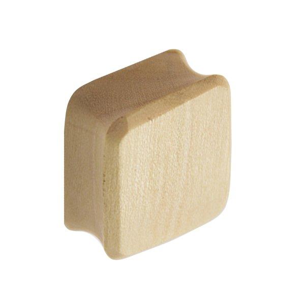 Holz Plug - Viereck - Krokodil Holz