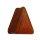 Holz Plug - Dreieck - Rotholz