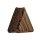 Holz Plug - Dreieck - Palmen Holz - Dunkel