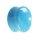 Glas Plug - Hellblau