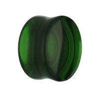 Glas Plug - Grün
