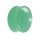 Glas Plug - Hellgrün