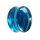 Glas Plug - Blau