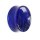 Glas Plug - Marmor - Blau
