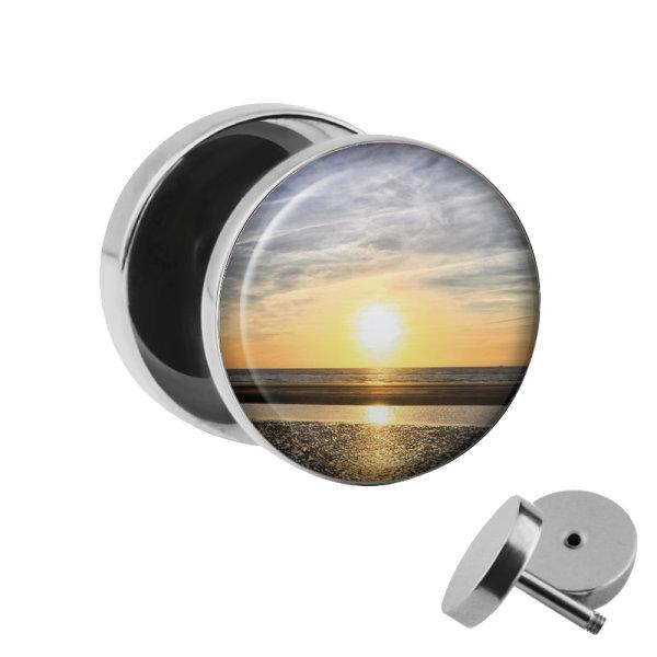 Motiv Fake Plug - Sonnenuntergang
