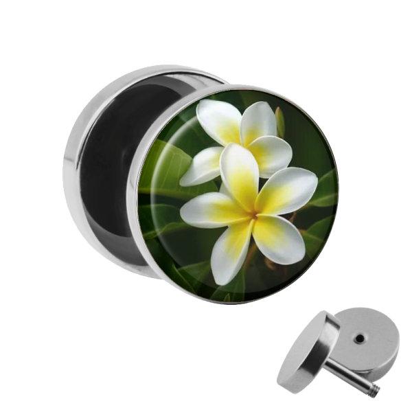 Motiv Fake Plug - Exotische Blume