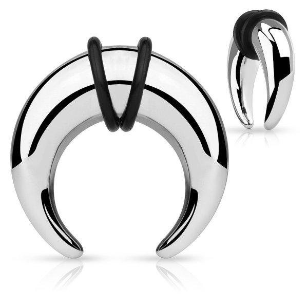 Dehnungssichel - Stahl - silber