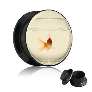 Picture Plug - Gewinde - Goldfisch