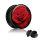 Picture Plug - Gewinde - Rote Rose