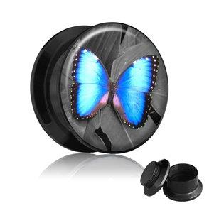 Picture Plug - Gewinde - Schmetterling