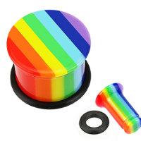 Classic Plug - Regenbogen