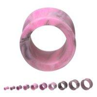Flesh Tunnel - Kunststoff - Marmor - Pink