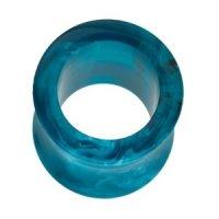 Flesh Tunnel - Kunststoff - Marmor - Blau