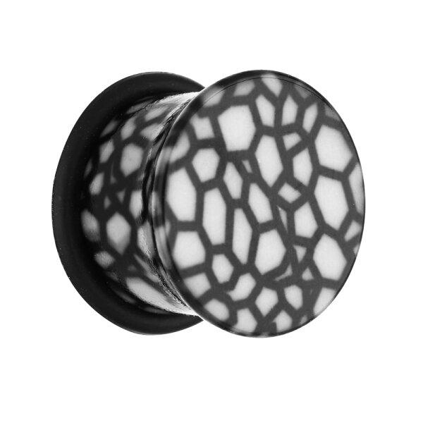 Classic Plug - Muster - Weiß