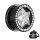 Kristall Stern Plug - Schwarz - Schutzschicht