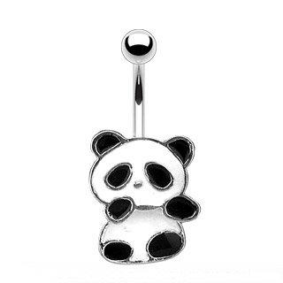 Piercing Banane - Silber - Panda
