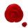 Ohr Plug - Kunststoff - Rose - Rot