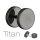 Titan Fake Plug schwarz