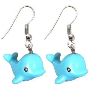 Ohrringe - Hänger - Delphin