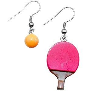 Ohrringe - Hänger - Tischtennis