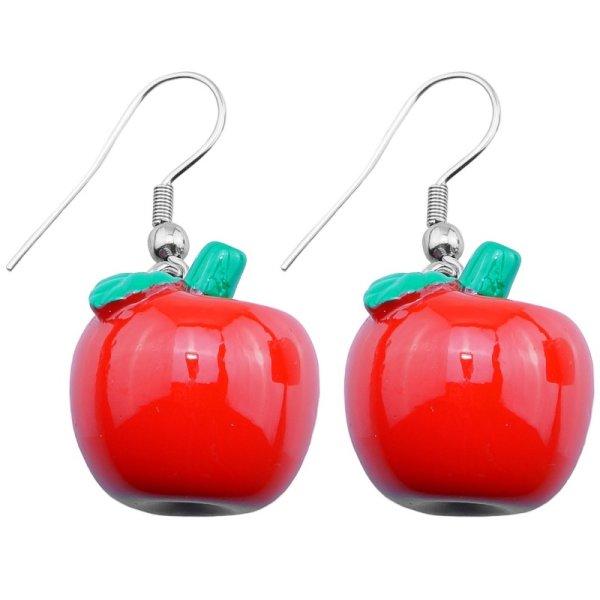 Ohrringe - Hänger - Apfel