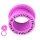 Flesh Tunnel - Kunststoff - Pink - Kristall - Pink