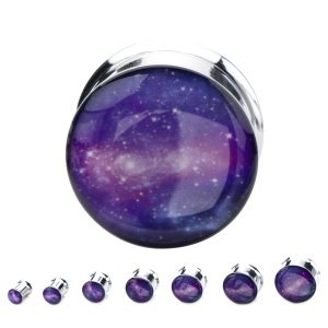 Picture Plug - Stahl - Galaxy