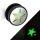 Ohr Plug - Glow in the dark - Silber - Stern
