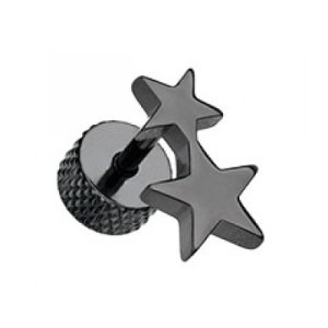 Fake Plug - Schwarz - 2 Sterne