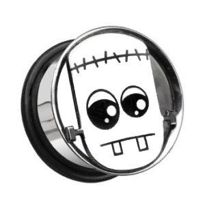 Flesh Tunnel - Stahl - Silber - Frankenstein
