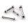 Barbell Piercing Stab Hantel | Silber | Dick