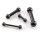 Piercing Stab - Stahl - Schwarz - 2.0mm bis 6.0mm
