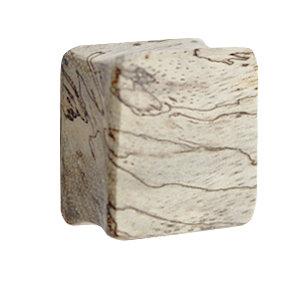 Holz Plug - Viereck - Tamarind