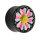 Ohr Plug - Horn - Blume - Pink