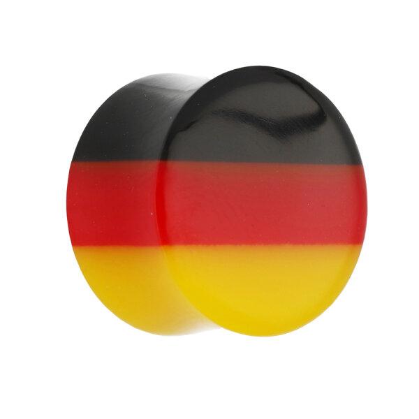 Ohr Plug - Flagge - Deutschland