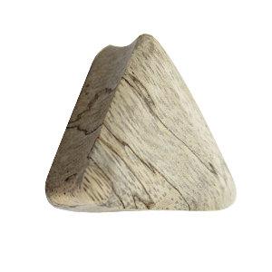 Holz Plug - Dreieck - Tamarind Holz