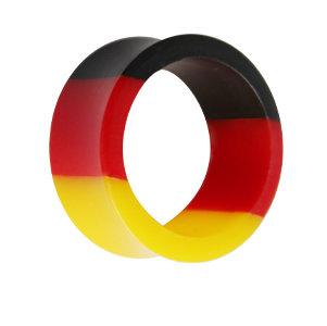 Flesh Tunnel - Flagge - Deutschland