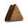 Holz Plug - Dreieck - Teakholz