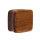 Holz Plug - Viereck - Teakholz