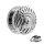 Ohr Plug - Stahl - Silber - Indianer